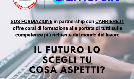 Nuova partnership con Carriere.it