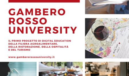 E' nata la Gambero Rosso University!