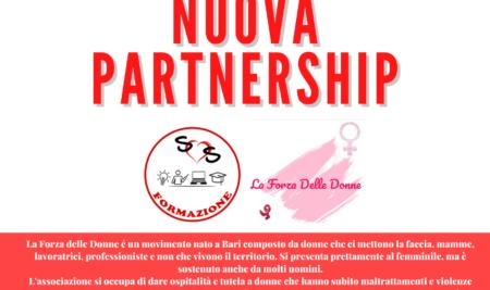 Nuova partnership con l'ass. La Forza Delle Donne