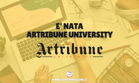 E' nata Artribune University!