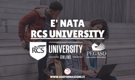 E' nata RCS University!